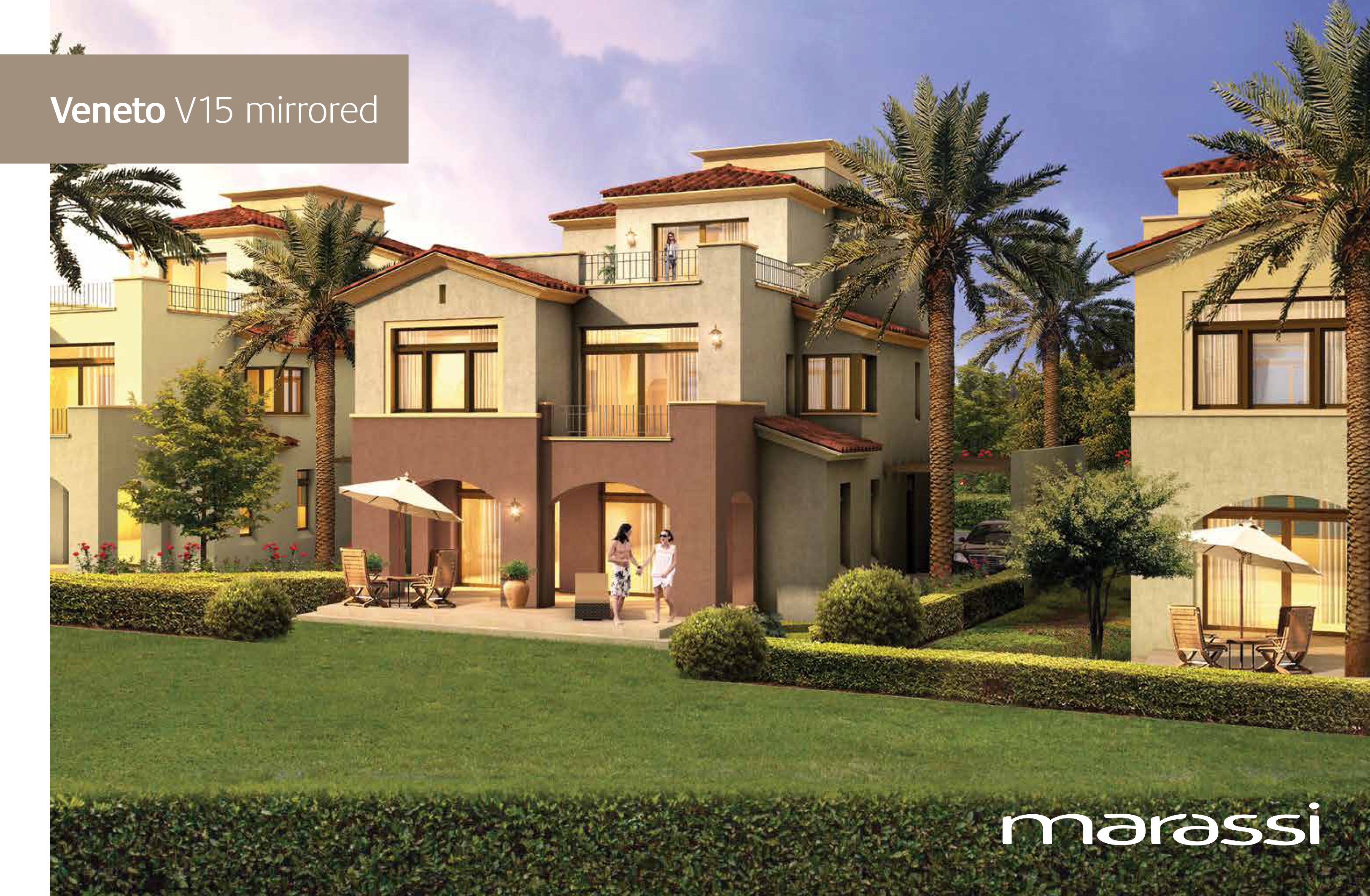 Emaar - Marassi - Twin house - Veretto 2